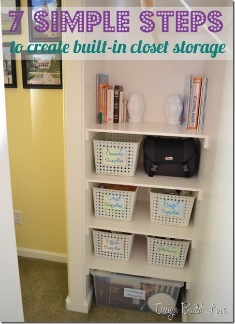 LOOKING TO UPGRADE YOUR BUILDER GRADE CLOSET ON THE CHEAP WITHOUT LOOKING  CHEAP?