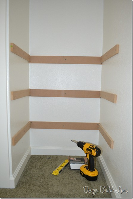 7 Simple Steps To Create Built In Closet Storage