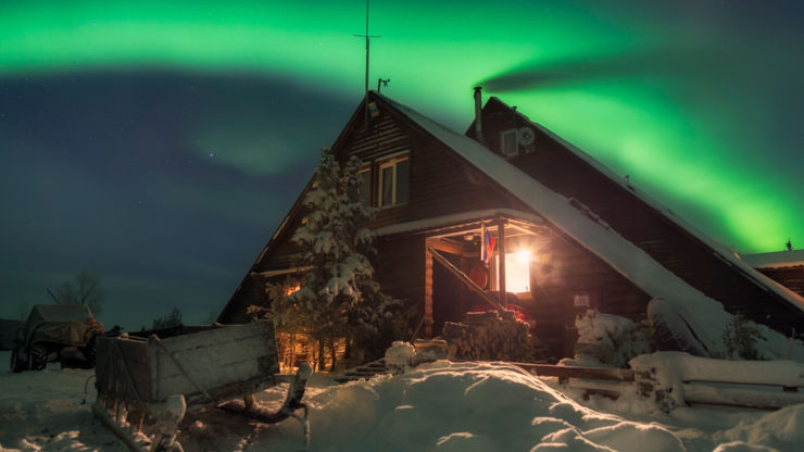 9 Places to see the Northern Lights - Russia